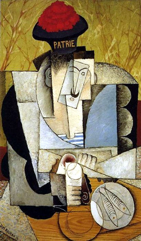 Puntodincontro mx - cultura - El cubismo de Diego Rivera