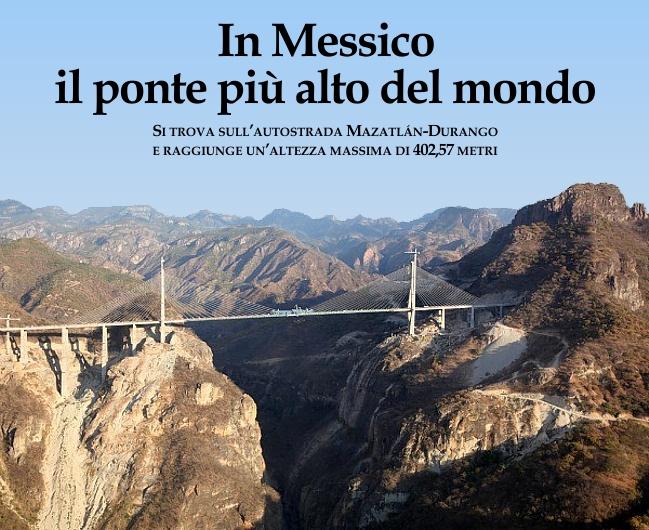 Punto d 39 incontro il giornale dell 39 italia in messico il for Piani di fondazione del ponte