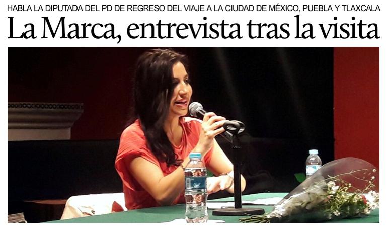 Entrevista a la diputada del PD Francesca La Marca tras su ...